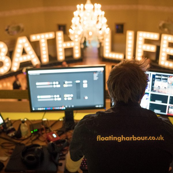 Live cutting at the Bath Life awards