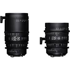 Sigma High Speed Cine Zoom Lens Set